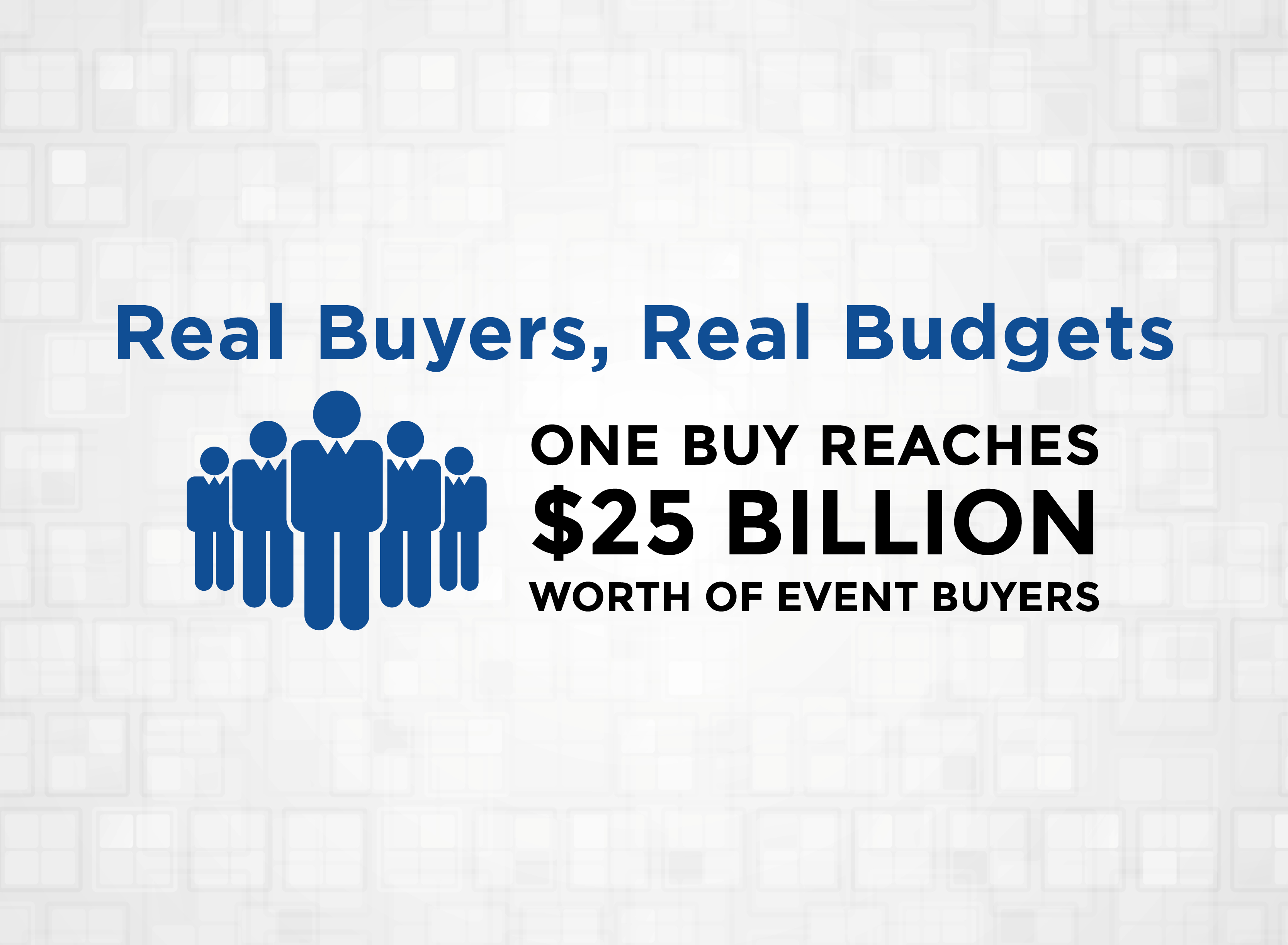 Real Buyers, Real Budgets