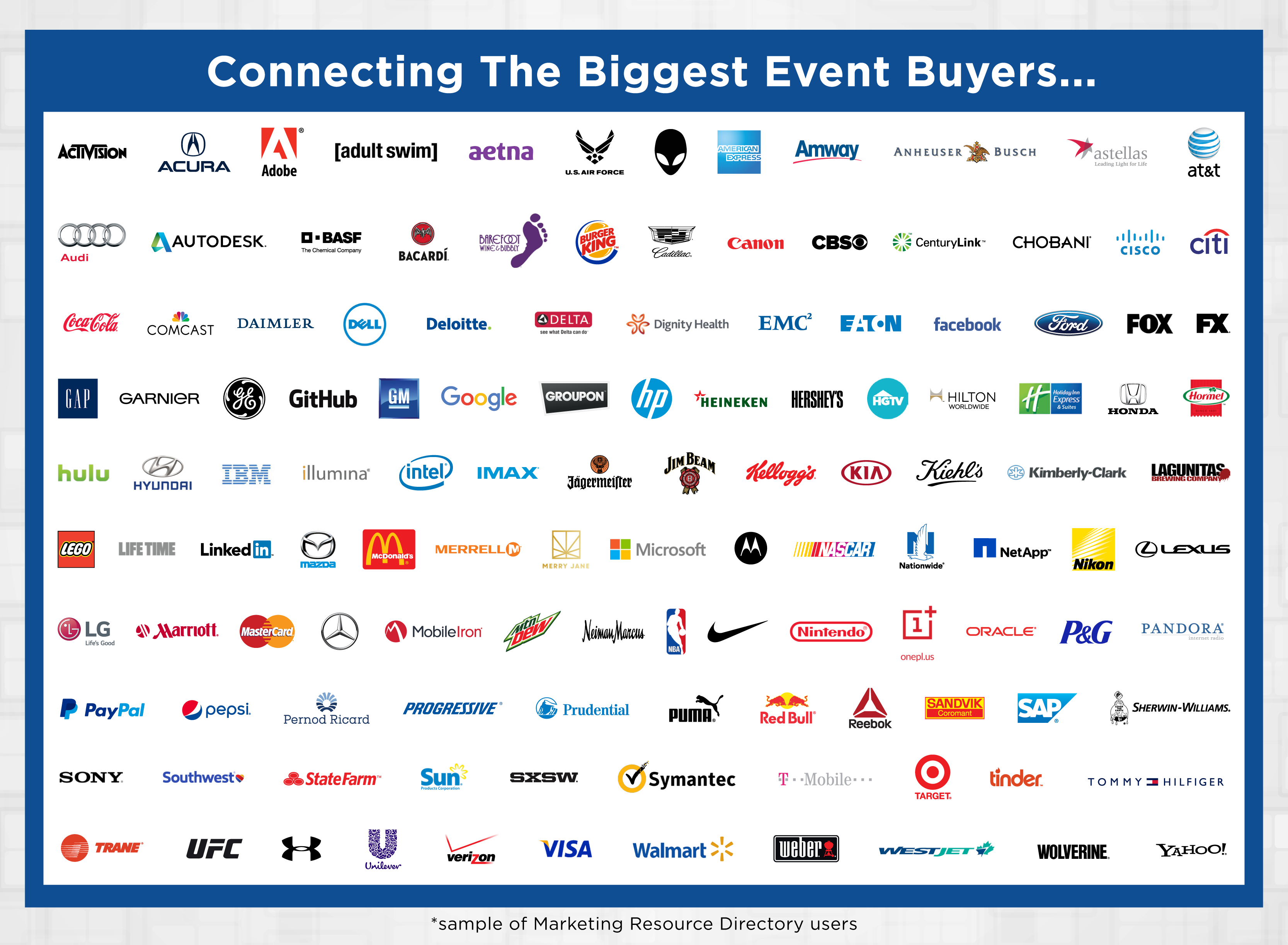 Connecting the Biggest Event Buyers